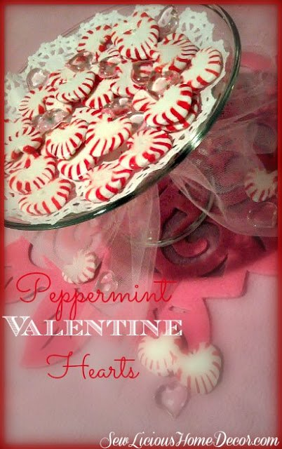 peppermint valentine hearts