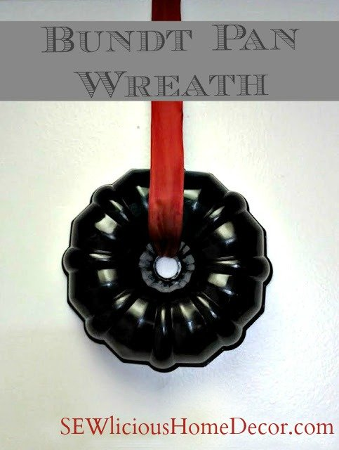 bundt pan wreath