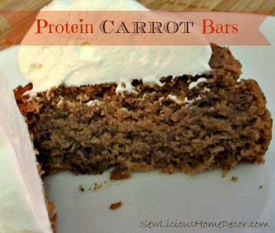 protein carrot cake