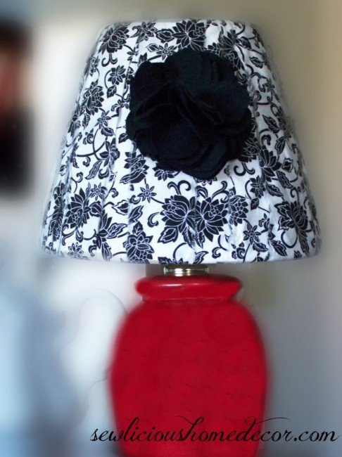 Lamp and Lamp Shade Redo