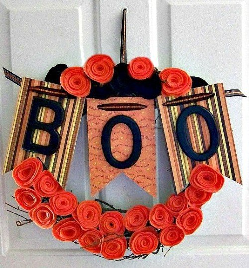 BOO Halloween Wreath submissions