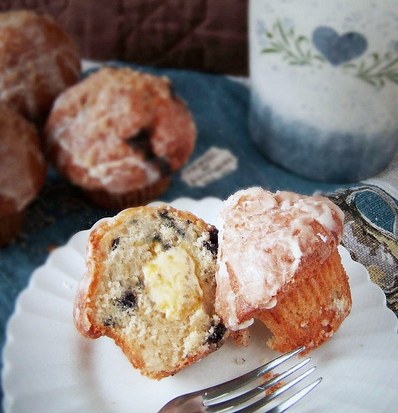 blueberry lemon muffins moist