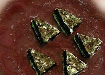 chocolate meringue pie fudge