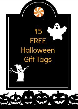 15 halloween gift tags