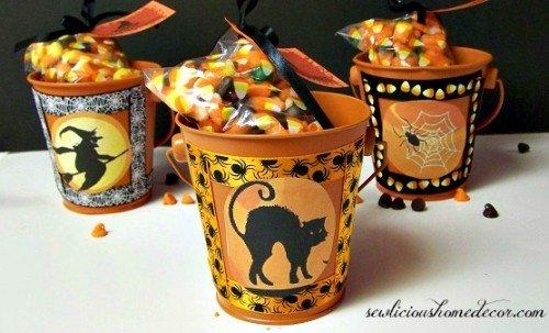 Halloween Gift Buckets