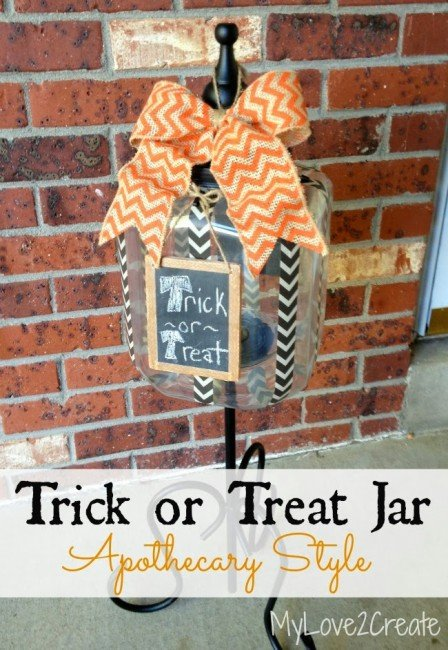 MyLove2Create, Trick or Treat Jar pin