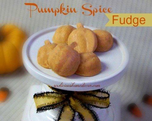 Pumpkin Pie Spice Fudge
