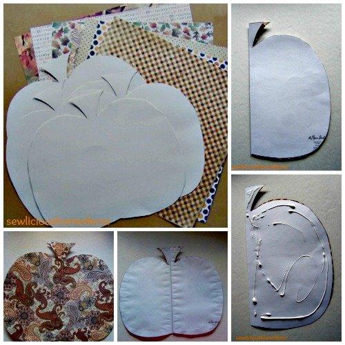 Scrapbook Paper Pumpkin Tutorial