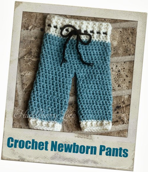 featured Crochet Newborn Pants Feature Photo-watermarked