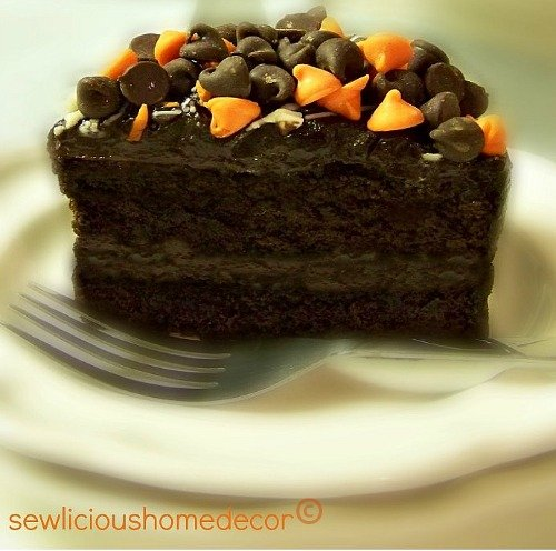 halloween chocolate fudge pudding cake recipe