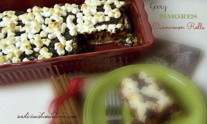 Cinnamon Roll Smores Cake #2