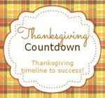 Thanksgiving timeline to success