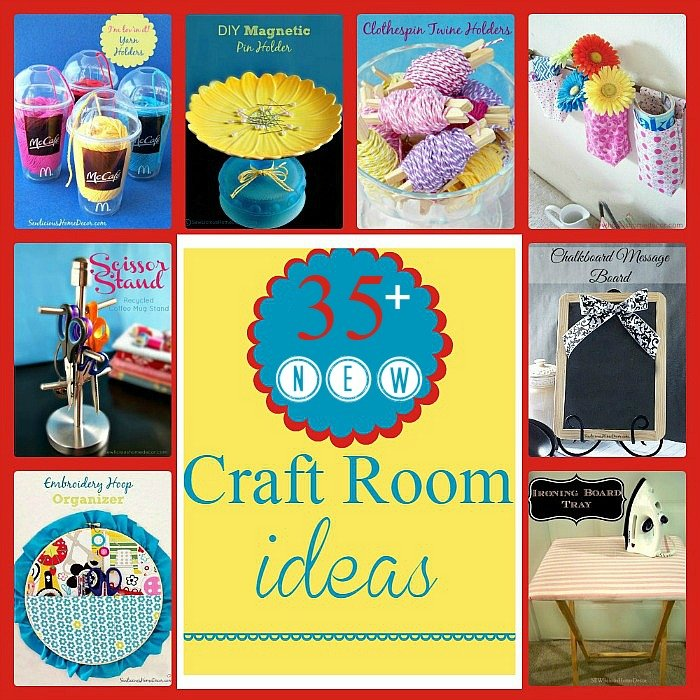 Over 35 Craft Room Ideas