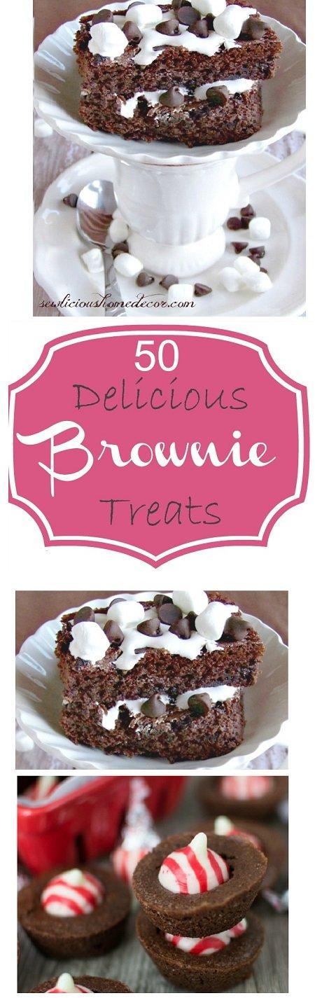 50 Delicious Brownie Treats