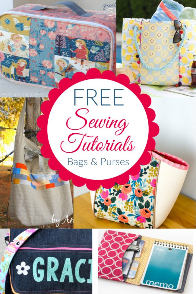 Free Sewing Tutorials Bags and Purses