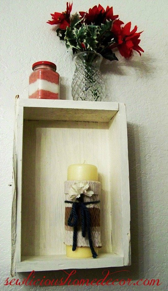 Uses for an old drawer hang on wall