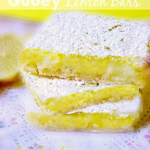 Ooey Gooey Lemon Bars Recipe