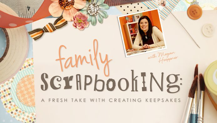 family scrapbooking class