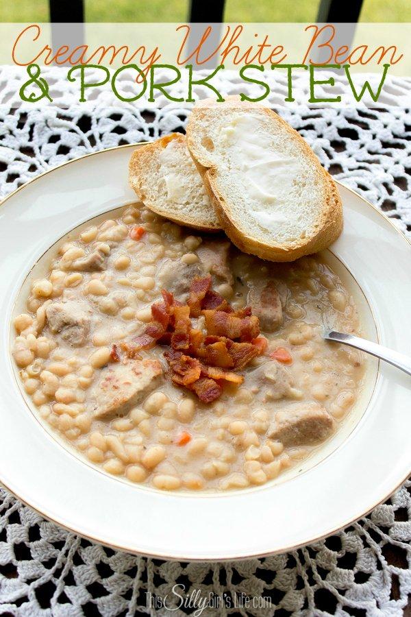 white bean pork stew