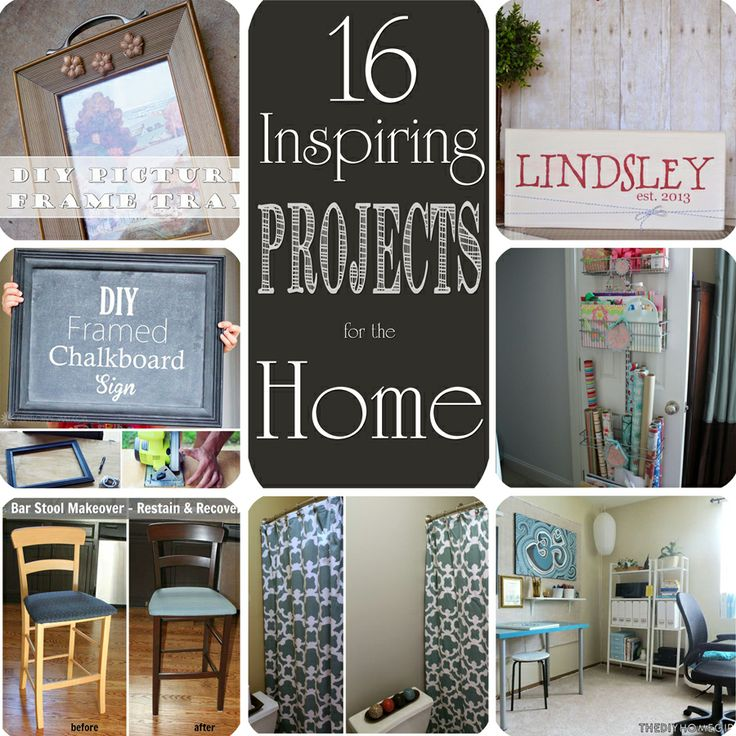 15 diy projects for the home