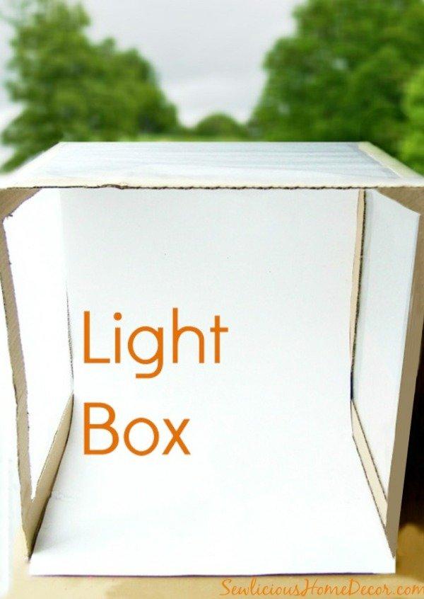 #Light Box #Photography at sewlicioushomedecor.com