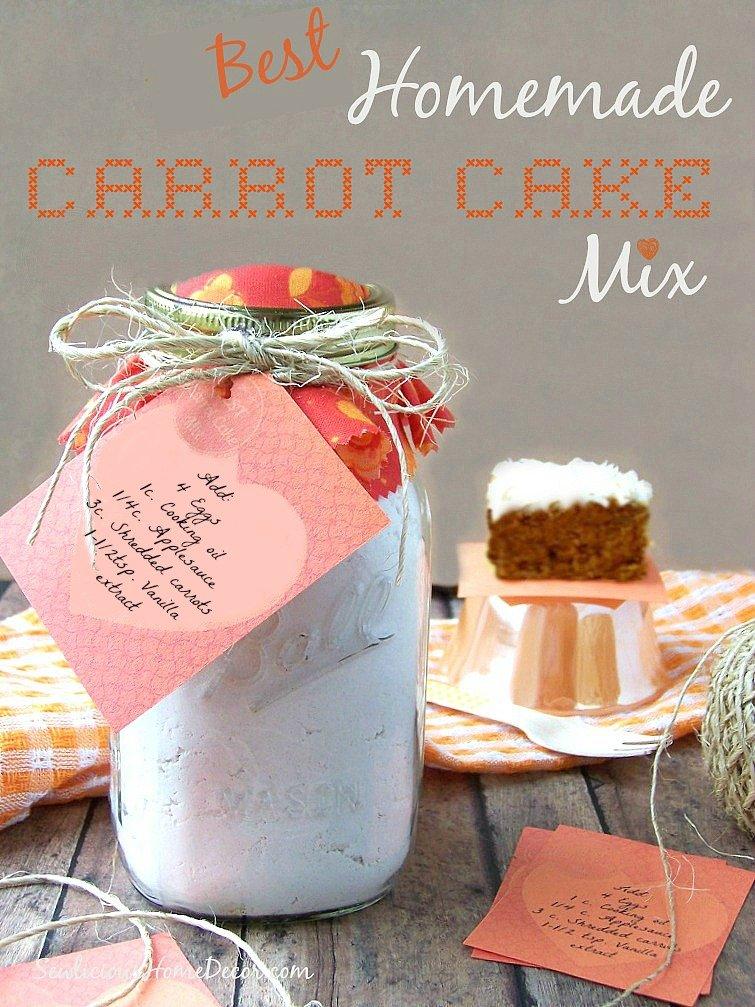Best Homemade Carrot Cake Mix