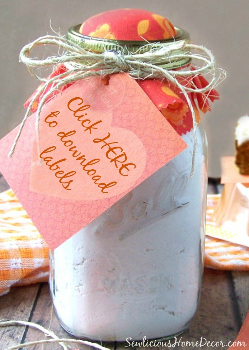 Carrot Cake Mix #Labels
