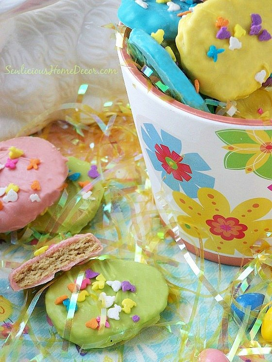 Easter Egg Reese's Peanut Butter Cookies