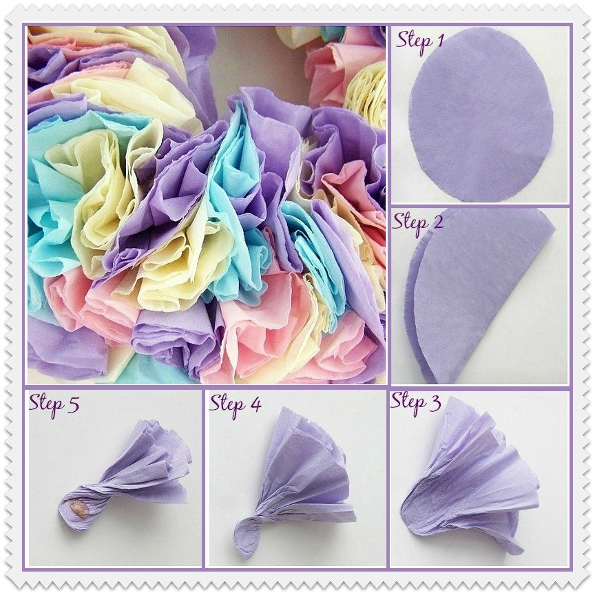 #Napkin Wreath Tutorial