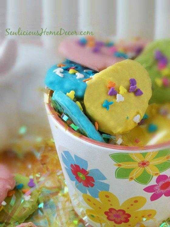 Reeses Easter Egg Cookies