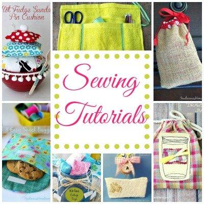 Sewing Tutorials at SewliciousHomeDecor.com