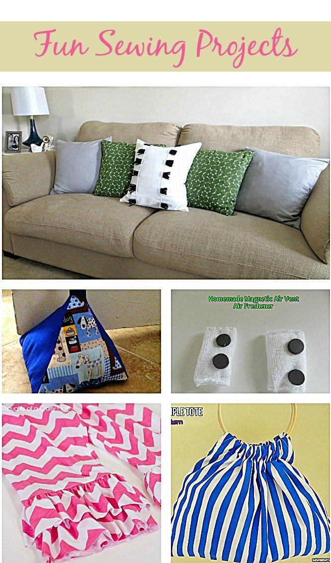 Fun Sewing Patterns and Projects