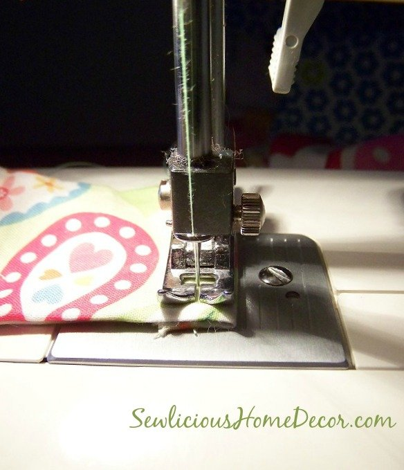 iPhone Case Tutorial sewing up end
