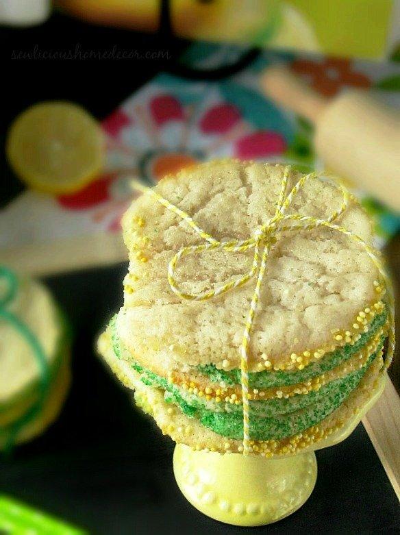 A Lemon-and-Lime-Cookies