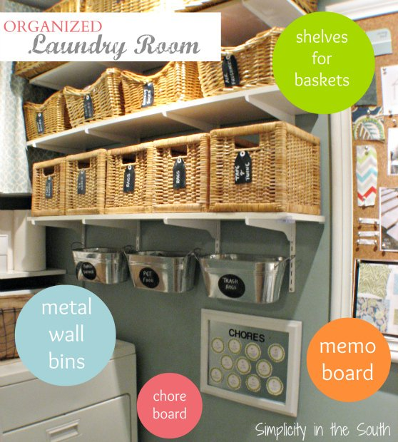 Ideas-to-organize-a-small-laundry-room-by-Simplicity-in-the-South