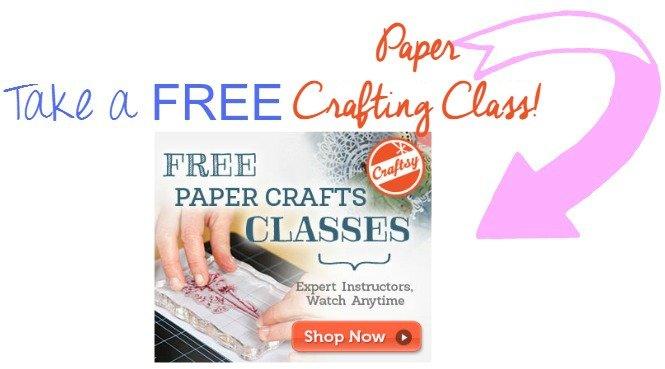 take a free paper crafting class sewlicioushomedecor.com