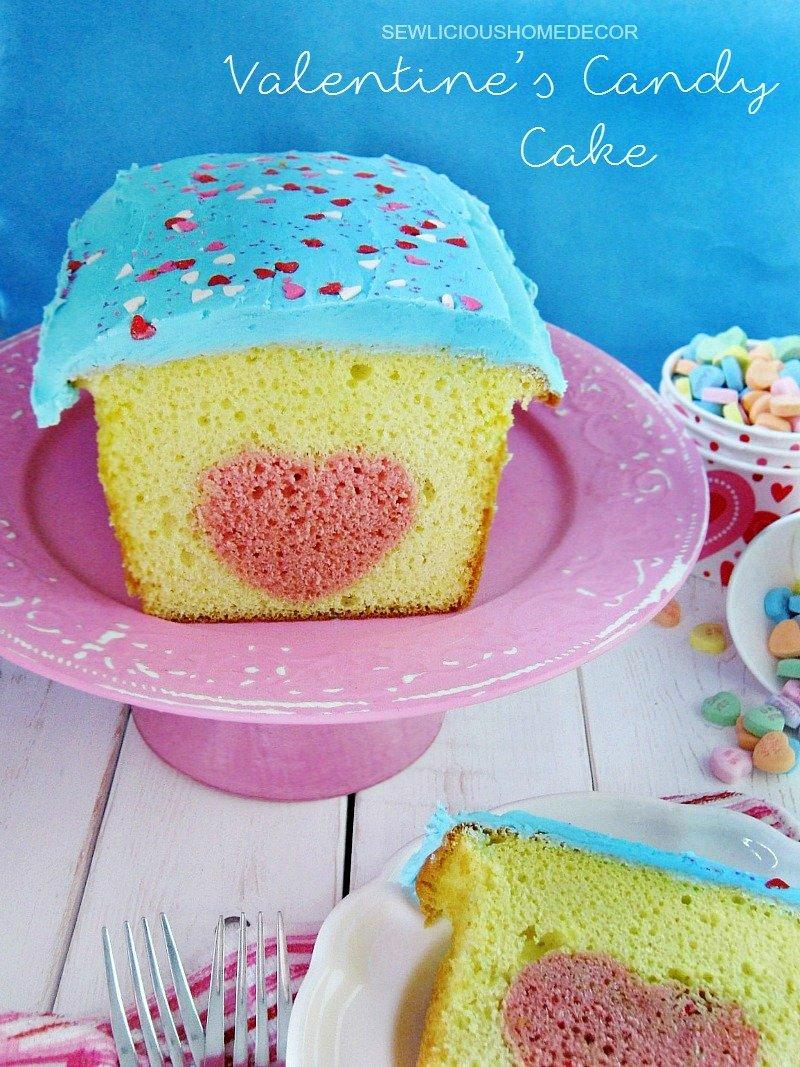 Lemon cookie cutter cake