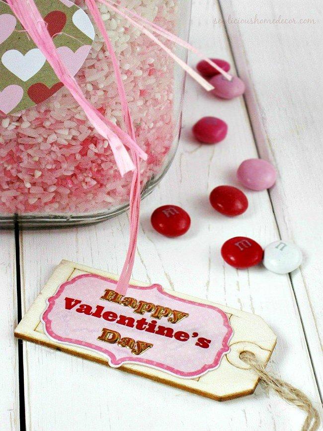 Ombre Valentine Jars sewlicioushomedecor