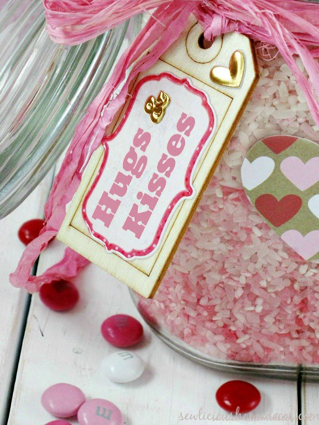 Ombre Valentine Ric Jars at sewlicioushomedecor