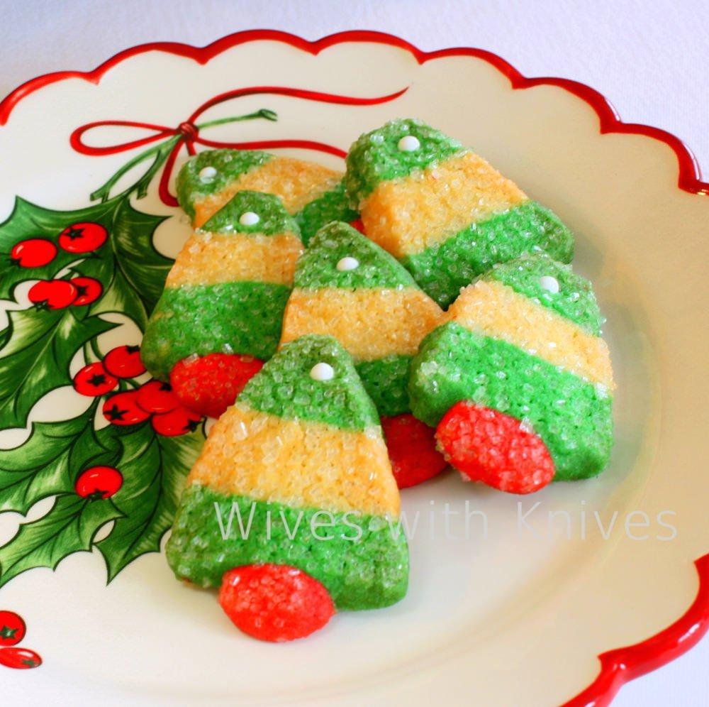 Christmas Tree Sugar Cookie