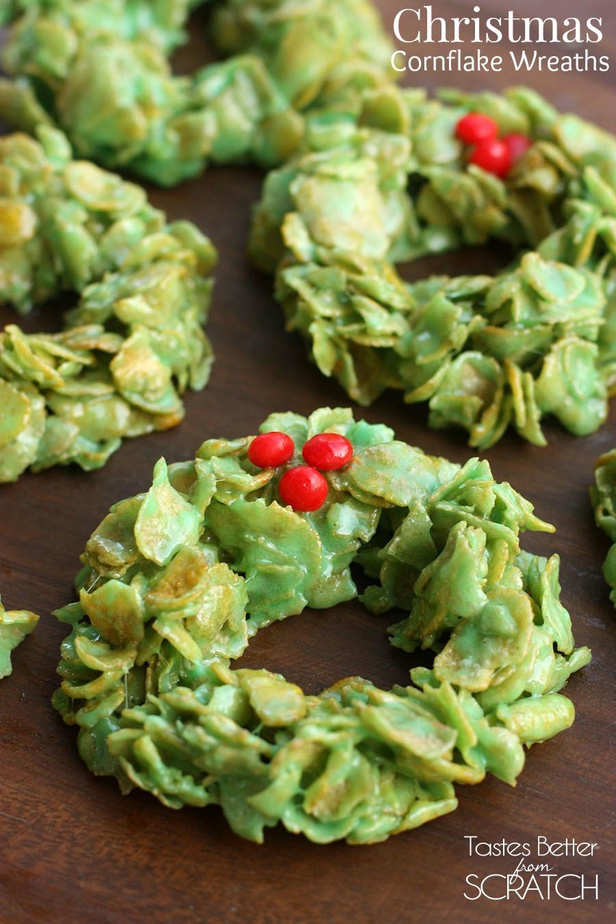 Christmas_Cornflake_Wreaths cookies