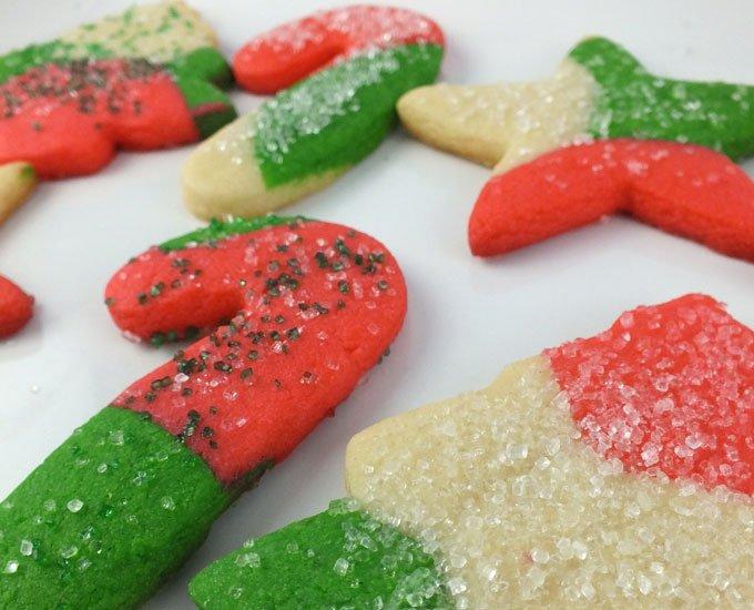 marble christmas sugar-cookies