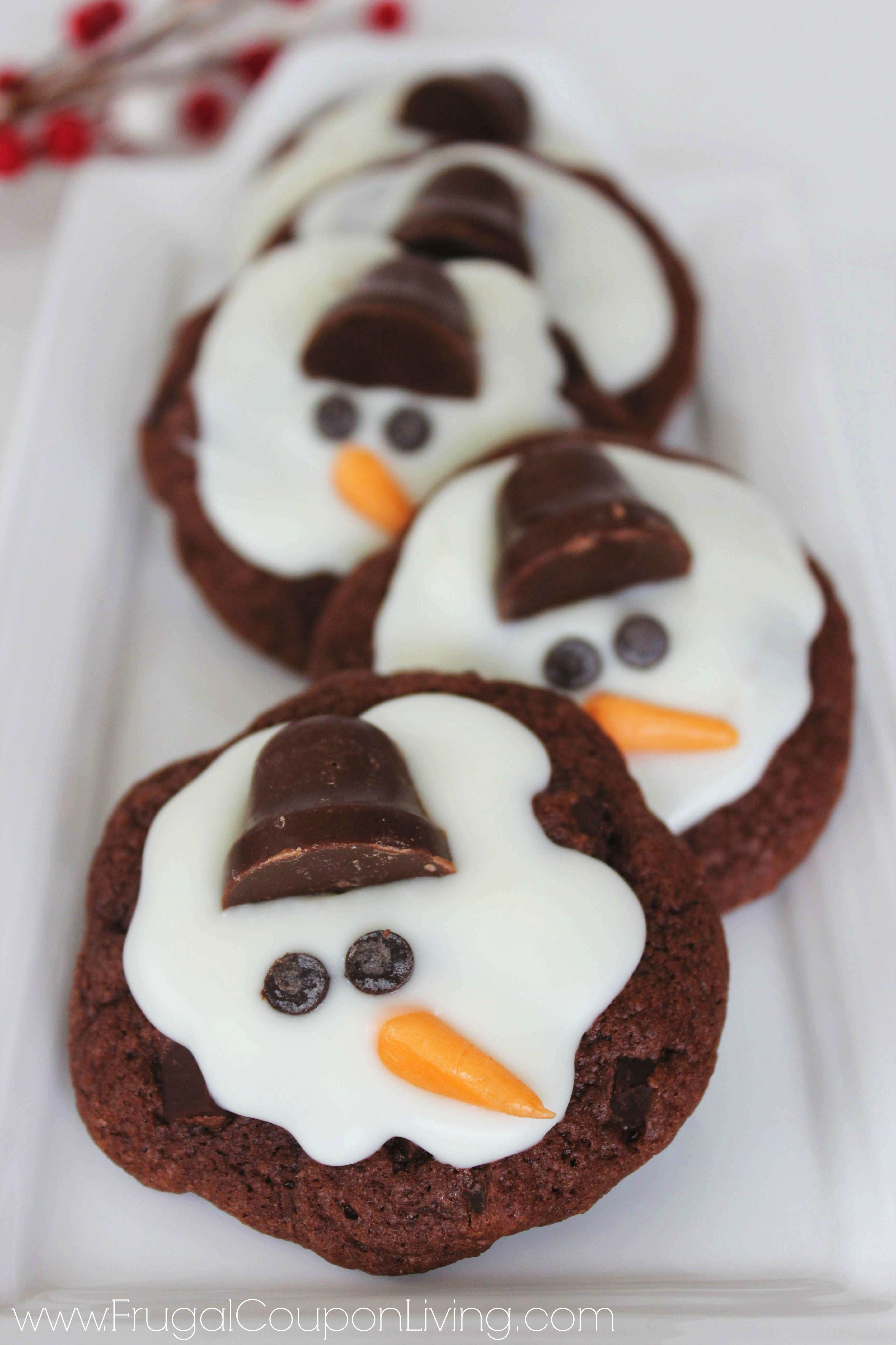 melting-snowman-cookies-frugal-coupon-living