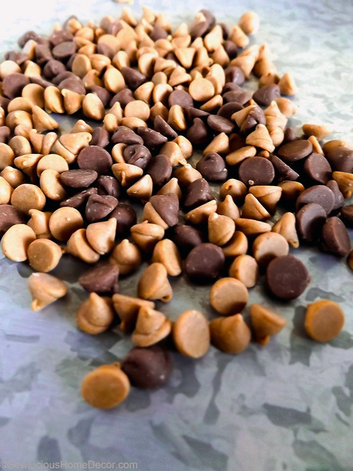 Peanut Butter and Chocolate Chips sewlicioushomedecor.com
