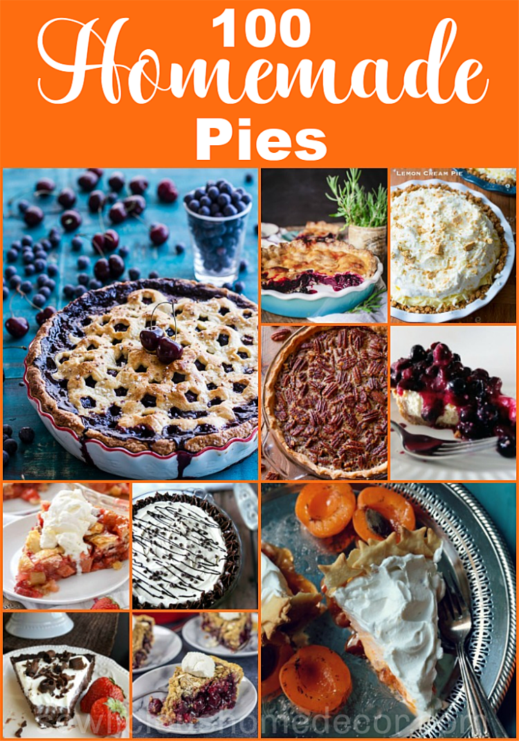 100 Homemade Pie Recipes