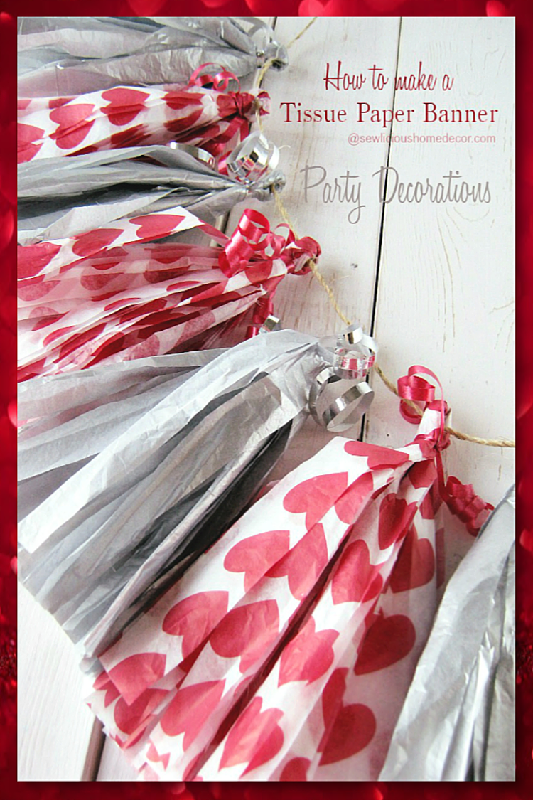 Tissue Paper Party Banner