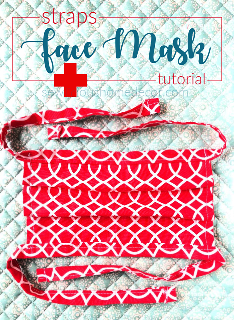 Face Mask With Straps Free Tutorial