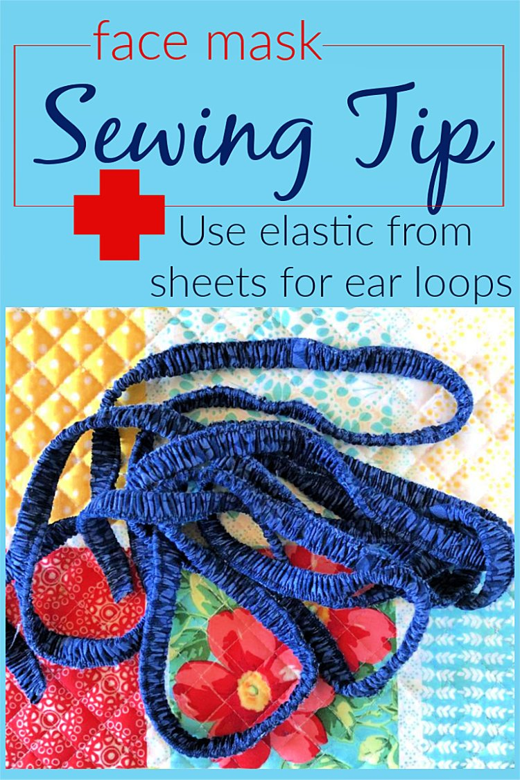 Face Mask Sewing Tip Elastic From Sheets