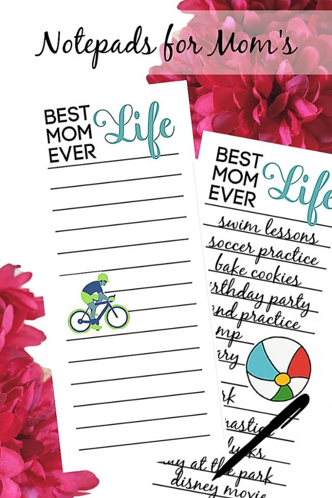 Magnetic Notepads For Moms