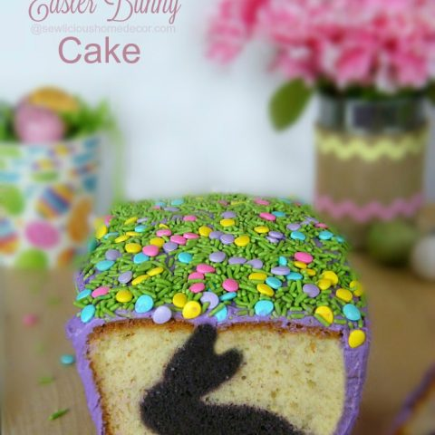 Holiday Decorative Easter Bunny Cake